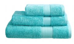 Aqua 100% Cotton Turkish Ringspun Towel 500 Gsm